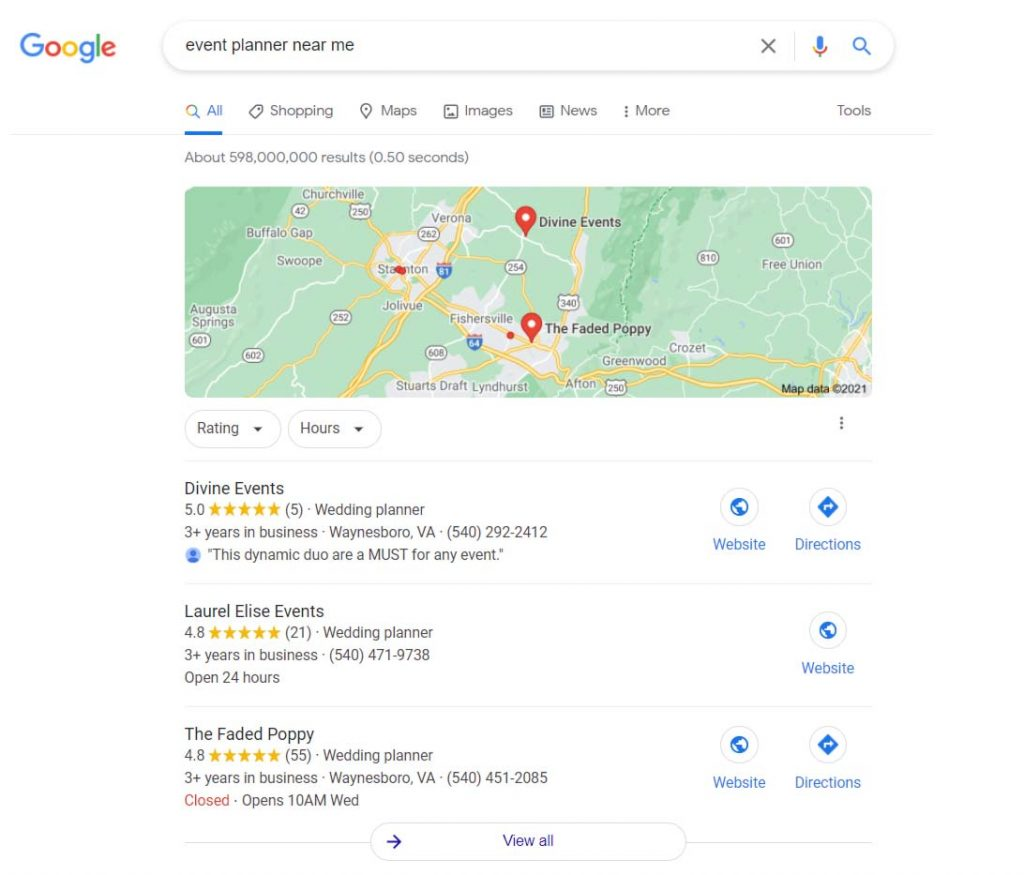 Local Search Optimization Example