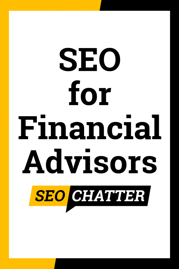 SEO for financial planners
