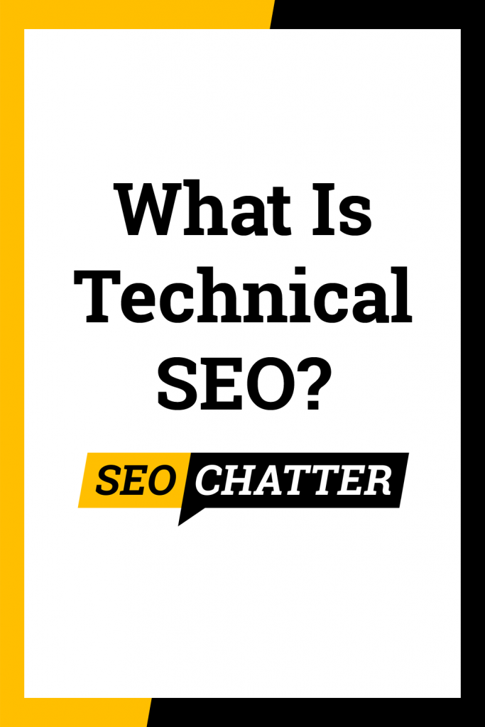 What does technical SEO mean