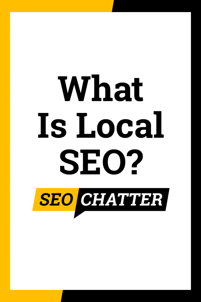 What is local search optimization