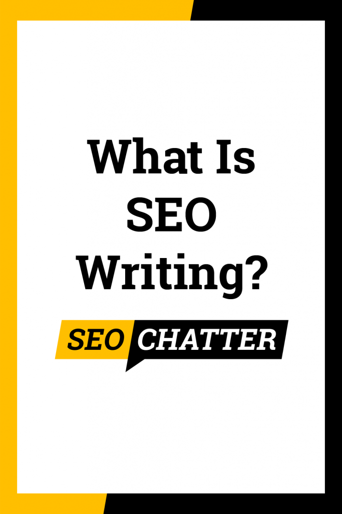 What is SEO in writing