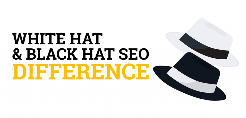 White hat SEO and black hat SEO difference