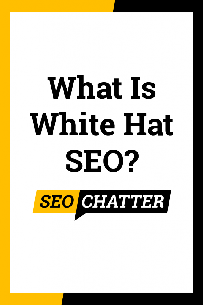 White hat SEO meaning